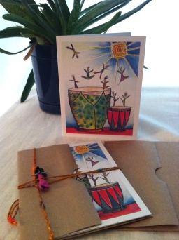 Greeting cards (with or without handmade trouble doll)